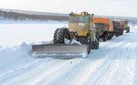 Дорожники Тувы пробили 200 км зимней дороги до Кунгуртуга