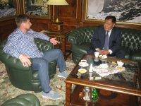 Шолбан Кара-оол и Рамзан Кадыров договорились о проведении Дней культуры Тувы в Чеченской республике