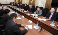 Глава Тувы встретился с депутатами республиканского парламента
