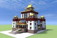 Некоммерческий фонд объявил сбор пожертвований на строительство буддийского храма в Туве