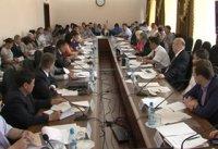 Замминистра регионального развития РФ Михаил Крук провел ряд рабочих совещаний в Туве и посетил юбилейные стройки