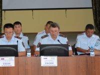 Коллегия МВД Тувы подвела итоги работы за полугодие