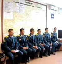 В Туве коллектив МЧС пополнился 6 новыми сотрудниками