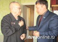 «Неучтенный» тувинский доброволец Валентин Георгиевич Тока награжден юбилейной медалью