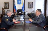 Глава Тувы и руководитель Управления Федеральной службы судебных приставов по РТ договорились о взаимодействии