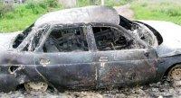 Поселок Каа-Хем. Итоги детской шалости с огнем – две сгоревших машины