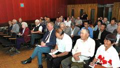 Делегаты конференции тувинского регионального отделения КПРФ. Фото Виталия Шайфулина