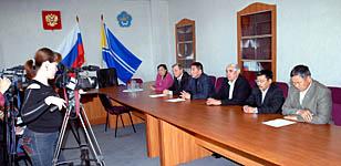 Пресс-конференция партии Жизни. Фото Виталия Шайфулина