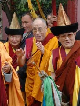 Далай-лама в Монголии. 2006 Фото Рейтер