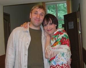 Светлана Рожкова и Олег Акулич. Фото Дины Оюн