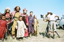 Съемки в Туве. 2005 год. Фото с сайта фильма По велению Чингисхана.