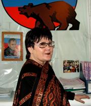 Марина Фирсова. Фото газеты Урянхай-Неделя