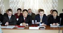 Члены правительства: (слева направо) Александр Свинцов, Шолбан Кара-оол, Александр Брокерт, Радислав Баян. Фото Виталия Шайфулина