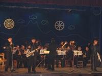 Духовой оркестр Кызылского училища искусства. Фото предоставлено оркестром
