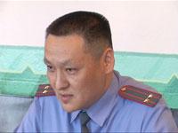 Аяс Кандан, заместитель министра МВД Тувы. Фото пресс-службы правительства