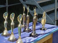 Кубки Азии Первых международных соревнований по многоборью спасателей. Фото пресс-службы Сибирского регионального центра МЧС