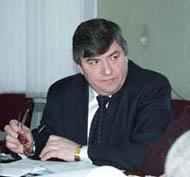 Петр Морозов, министр образования Тувы. Фото Виталия Шайфулина
