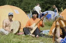 Ансамбль Уг Шиг, Тува, на фестивале Этнолайф. Фото сайта Этнолайф