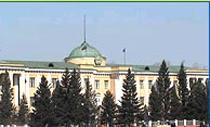 Здание парламента Тувы