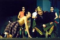 Сцена из спектакля Макбет Саха театра.
