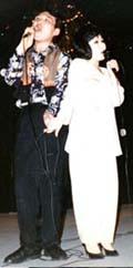 Сергей Ондар и Римма Сарыг-Хуурак исполняют Балгазынские вечера. Фото из семейного архива Сергея Ондара