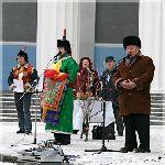 Шагаа в Москве в 2004 году. Фото сайта Ассамблея Народов России