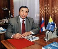 Шериг-оол Ооржак, председатель правительства Республики Тыва. Фото В.Савиных