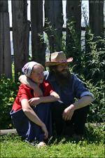 В староверческом поселке Эржей, Тува. Фото сайта dm.ykt.ru