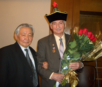 Чимит-Доржу Ондар и Севьян Вайнштейн. Фото Дины Оюн