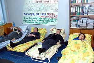 Кандидаты от «Справедливой России» объявляют голодовку
