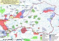 Карта перспективной сети ООПТ РТ, созданная сотрудниками ГБПЗ «Убсунурская котловина». Фото © WWF России / ГБПЗ «Убсунурская котловина»