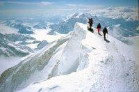 На пике Мак-Кинли (США) тувинские альпинисты водрузили флаг Русского Географического Общества