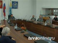 В Туве бойцам тувинского ОМОНа вручены государственные награды