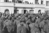 67 лет назад Тува проводила на фронт кавалерийский эскадрон