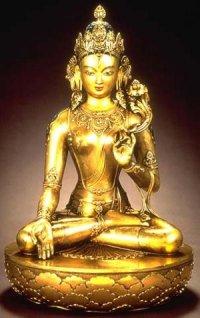 В Туву из Непала доставлена 21 статуэтка богини Тары