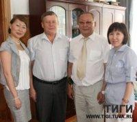 Тувинские и казахские социологи будут сотрудничать