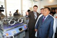В Туве открыт новый блок Перинатального центра