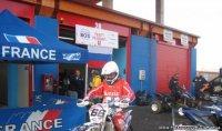 Чемпион России по мотокроссу Дмитрий Паршин доволен мотогонками в Туве