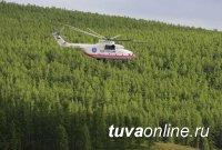 В Туве ищут пропавших в глухой тайге паломников