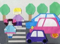 """В Туве """"Бумажная Вселенная"""" помогает школьникам освоить правила дорожного движения"""