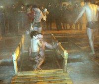 В Туве крещенские купания прошли при 45-градусных морозах