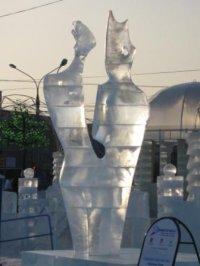 Ледовые скульпторы из Тувы отмечены жюри Открытого кубка России