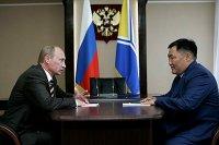 Туву с праздником Шагаа поздравил Владимир Путин