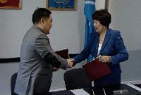 В Туве правительство и налоговая служба подписали Соглашение по информационному взаимодействию