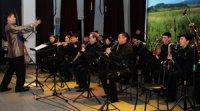Духовой оркестр Правительства Тувы отметил трехлетие