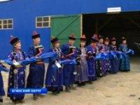 В поселке Кутузовка начала свою работу выставка племенных овец и коз