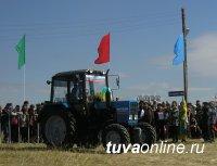 Лучший по кормозаготовке район Тувы получит трактор