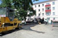 В Туве ведется капитальное обустройство внутридомовых территорий