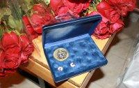 В Туве 50 семейным парам вручили памятные медали «За любовь и верность»