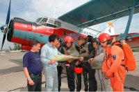 Тувинские парашютисты-пожарные  помогут бороться с огнем  в Якутии и Архангельской области